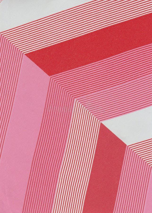 Przekątny kształtują w nowożytnym projekcie, menchia barwią zdjęcia stock