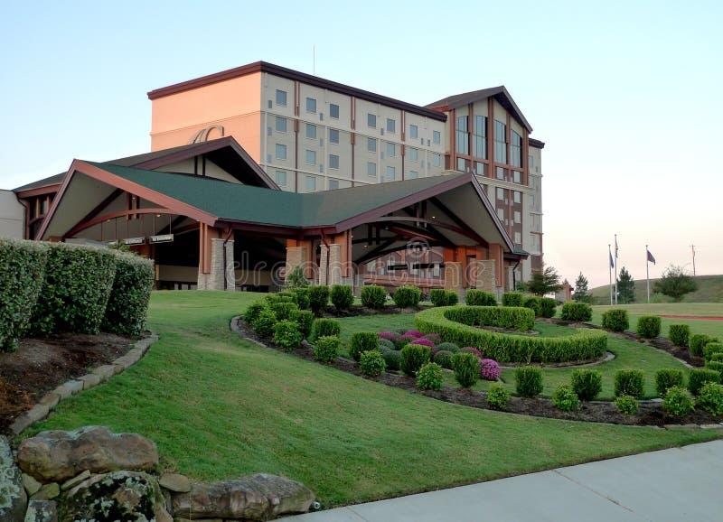 Przekładanka hotelu i kasyna kompleks, Pocola, Oklahoma zdjęcia royalty free