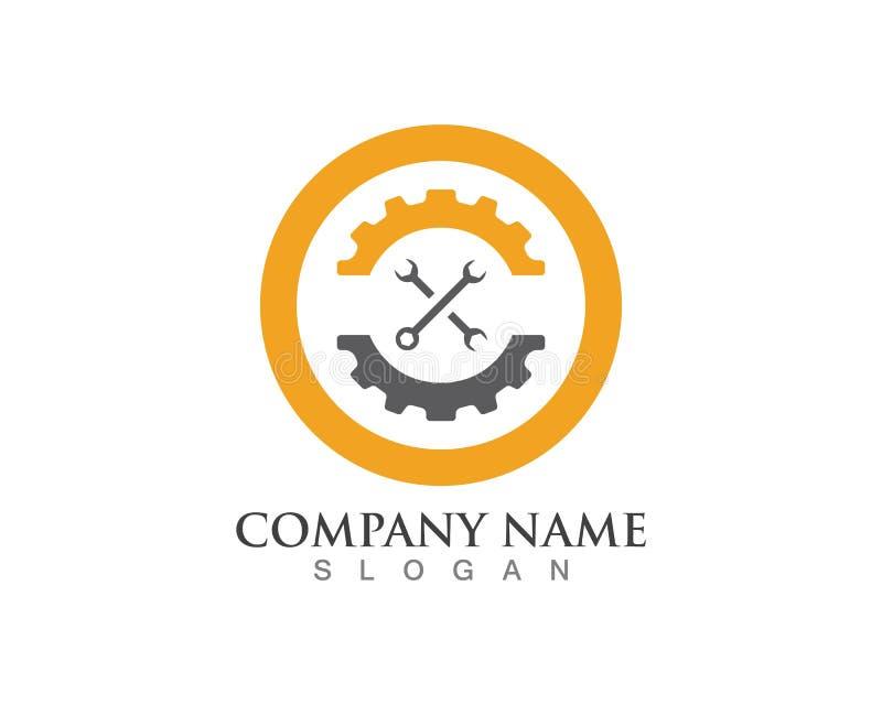 Przekładni położenia logo ilustracji