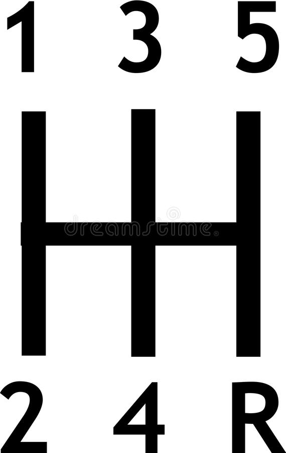 Przekładni przesunięcia ikona ilustracji