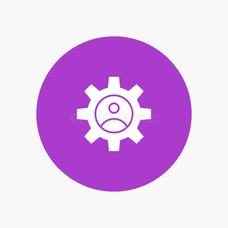 Przekładnia, kontrole, profil, Używa ilustracja wektor