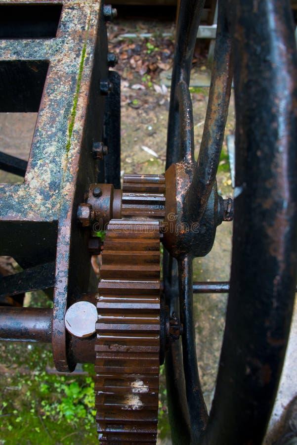 Przekładnie i cogwheels, Spain fotografia stock