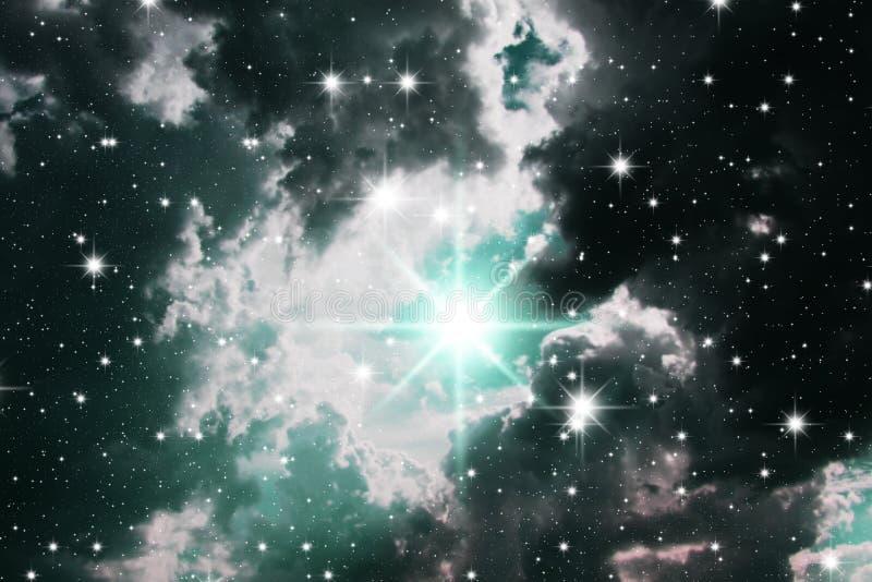 przekrwienie gwiazdy ilustracja wektor