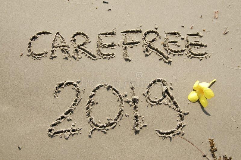 2018/2019 przemian - nowy rok wigilia zdjęcie royalty free