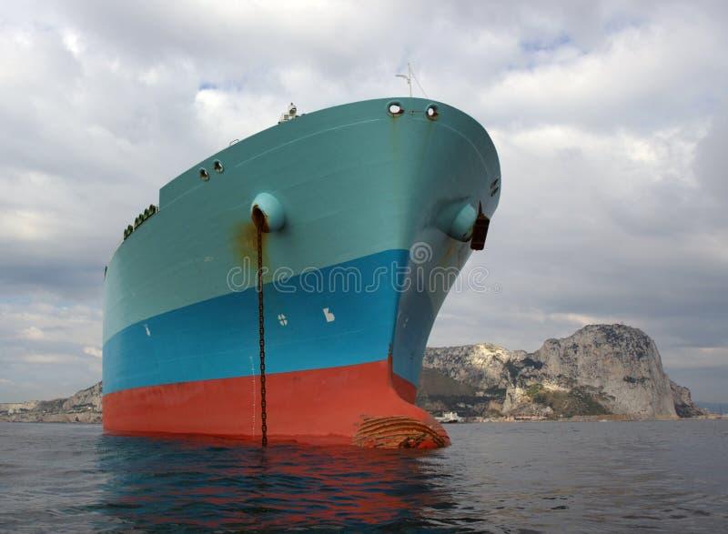 przemysł gazowy lng zbiornikowiec do ropy obrazy royalty free