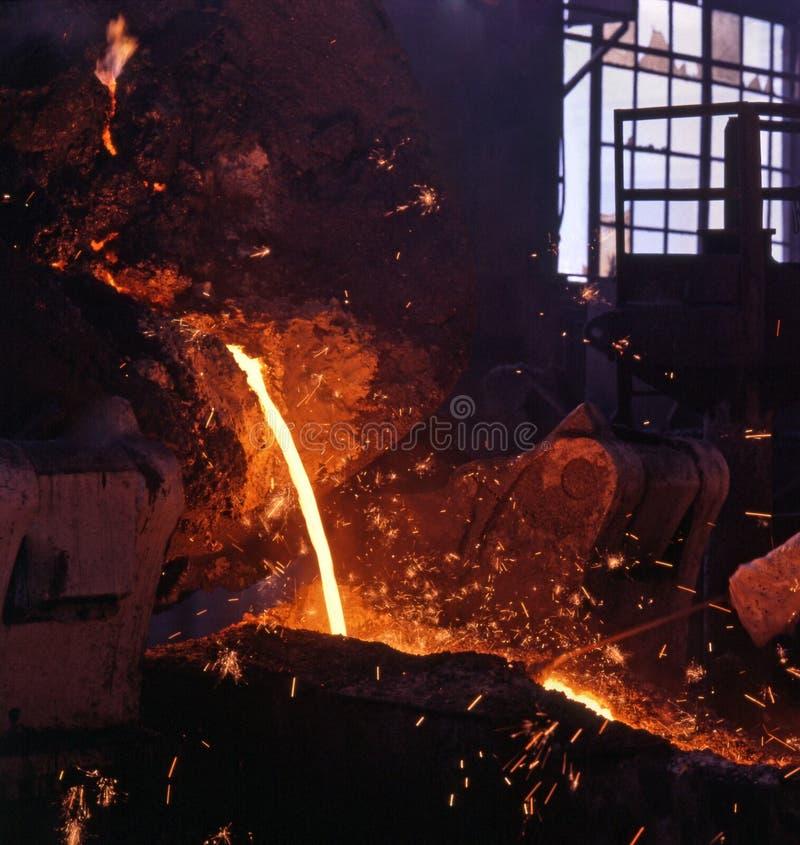 przemysł hutnictwa zdjęcie stock
