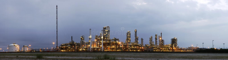 przemysł naftowy produktu dawn zdjęcie stock