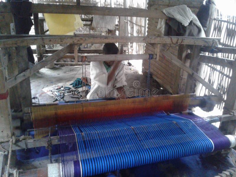 Przemysł taty w Bangladeszu Tu pracują wykwalifikowani ludzie Wiele pracy wykonano w dystrykcie Kushtia Kumarakhali w Bangladeszu fotografia stock