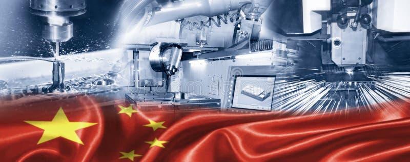 Przemysł w Chiny obrazy royalty free