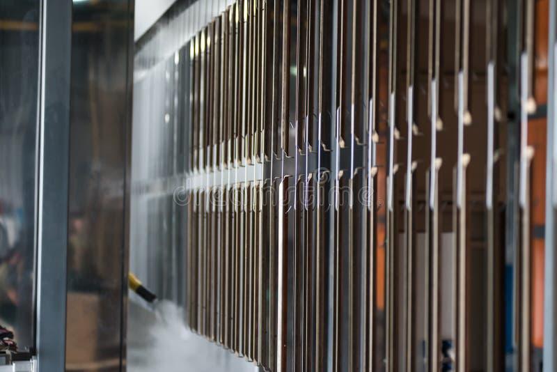Przemysłowa automatyczna obraz technologia Prochowi narzuty obraz royalty free