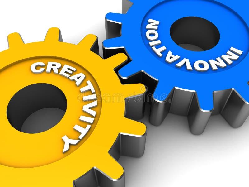 Przemysłowa innowacja ilustracja wektor