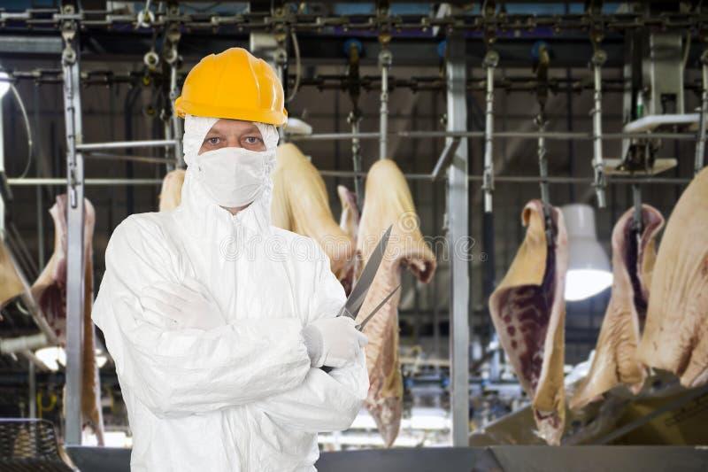 Przemysłowa masarka zdjęcia royalty free