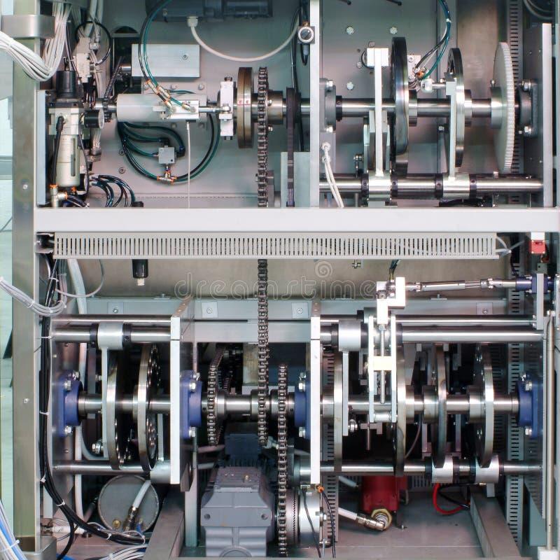 Przemysłowa maszyna z przekładnią obraz stock