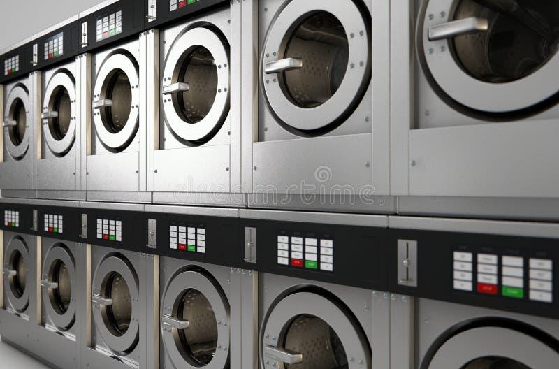 Przemysłowa pralka zdjęcia stock
