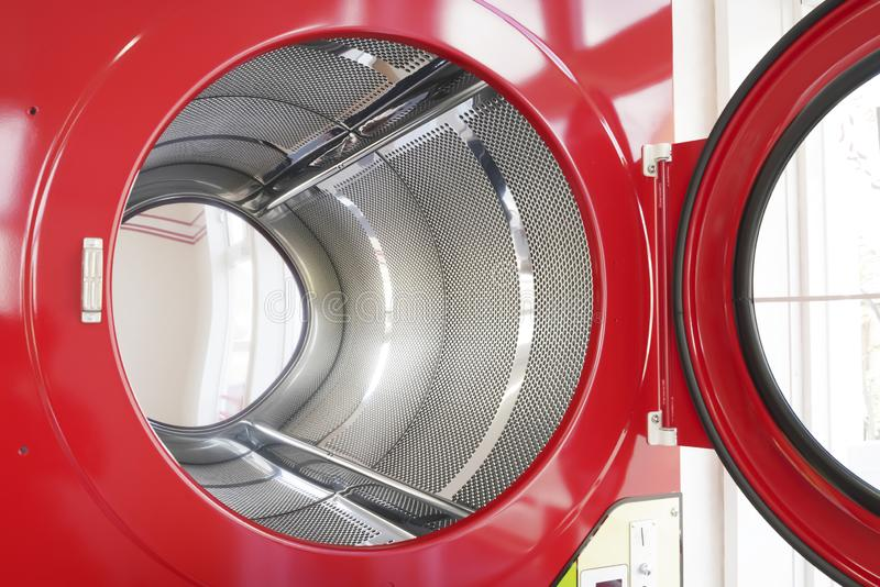 Przemysłowa pralniana maszyna fotografia stock
