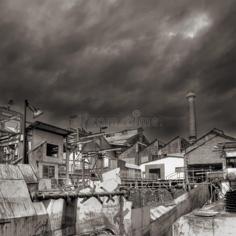 przemysłowa ruina fotografia stock