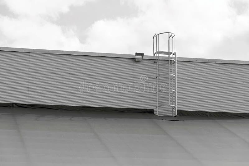 Przemysłowa struktura lub magazyn hangar zdjęcia royalty free