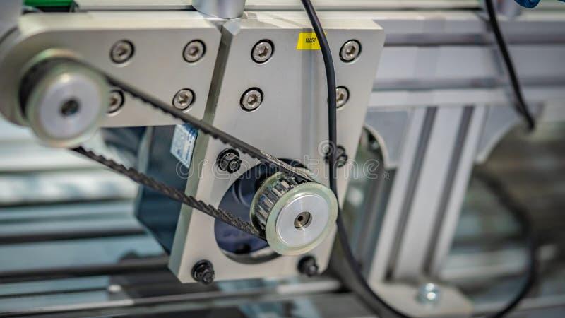 Przemysłowe Mechaniczne Parowozowe części Maszynowe obraz royalty free