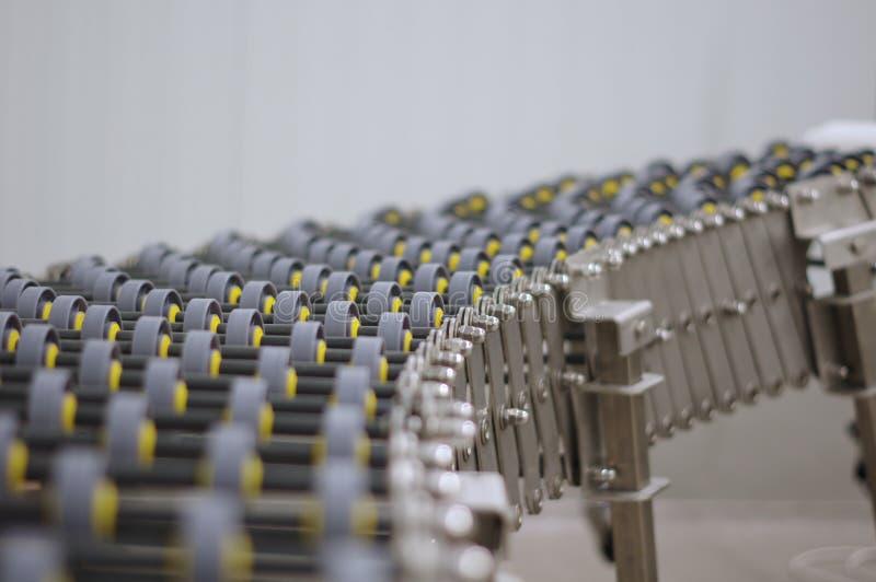 Przemysłowego produktu przewieziony system zdjęcia stock