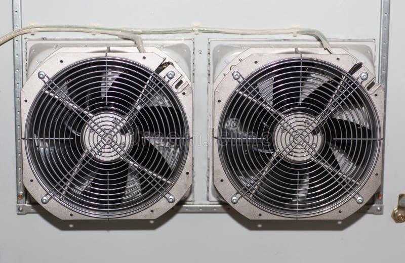 Przemysłowej inżynierii termografia obraz stock