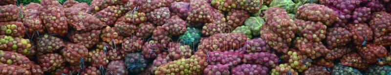 Przemysłowi jabłka zdjęcia stock