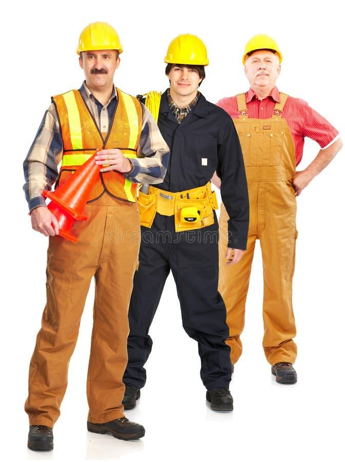 przemysłowi pracownicy zdjęcia stock