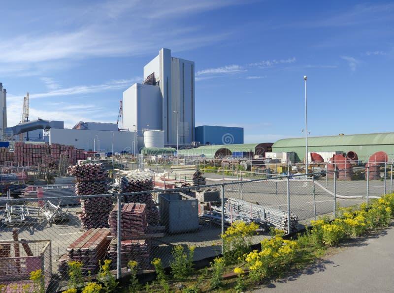 Przemysłowy budynek obrazy stock