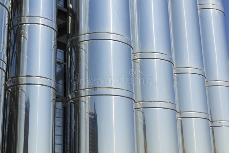 Przemysłowy Chłodniczy system. zdjęcia stock