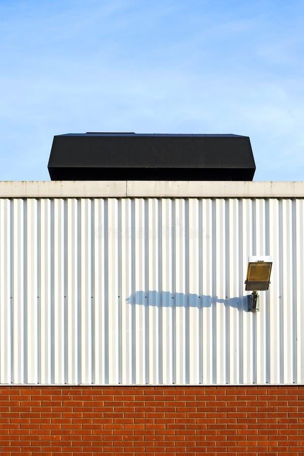 Przemysłowy dach zdjęcia stock