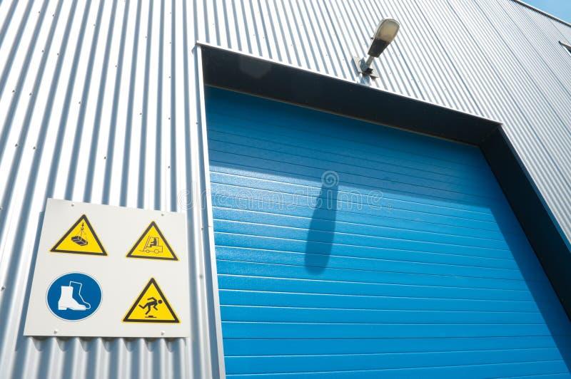 przemysłowy drzwi rolownik zdjęcia stock
