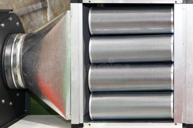 Przemysłowy filtr obraz stock