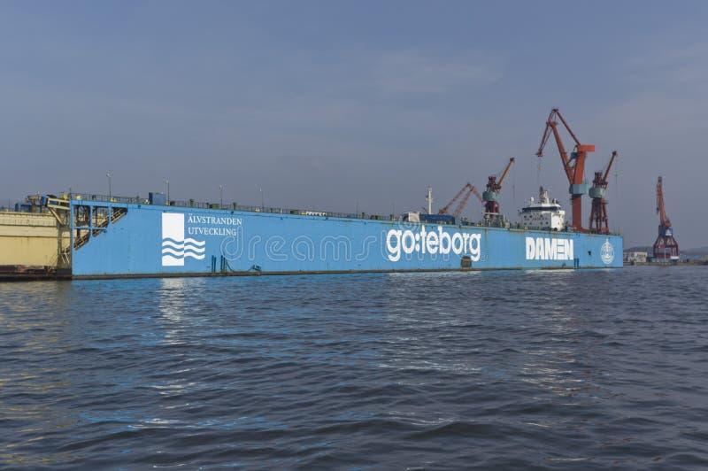 Przemysłowy Gothenburg obraz royalty free