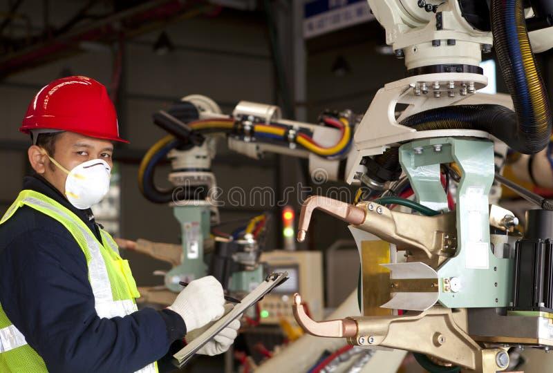 Przemysłowy inżynier obrazy stock