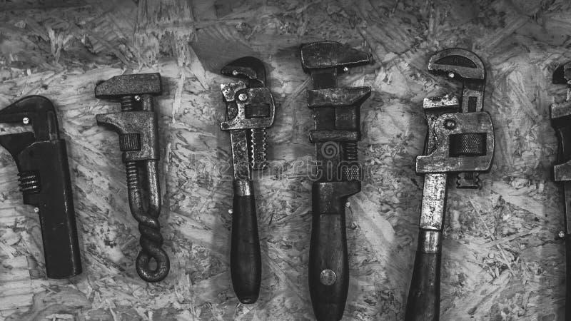 Przemysłowy instrument Wytłacza wzory kolekcja set zdjęcia stock