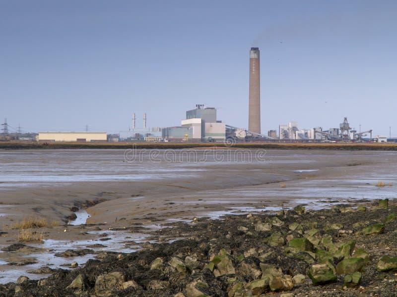 przemysłowy krajobraz zdjęcia royalty free