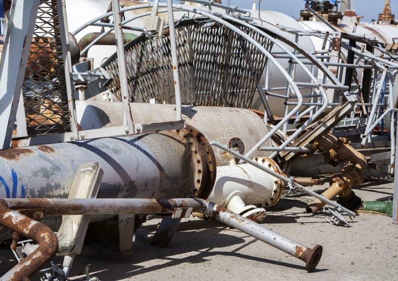 Download Przemysłowy Materiału Budowlanego Przetwarzać Obraz Stock - Obraz złożonej z ośniedziały, materiał: 53780985