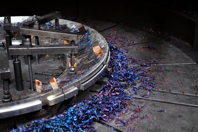 Przemysłowy metalu działanie zdjęcia royalty free