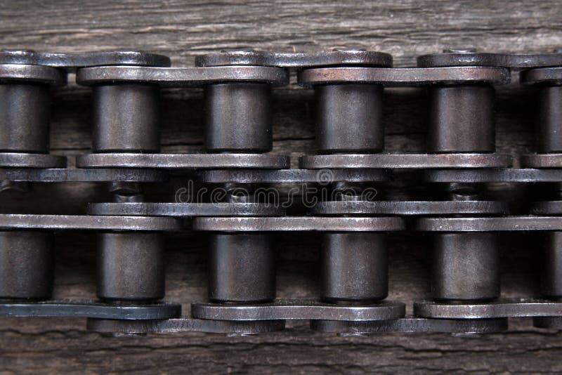 Przemysłowy napędowy rolownika łańcuch Część łańcuszkowa przejażdżka obrazy stock