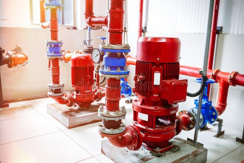 Przemysłowy pożarniczy system kontrolny obrazy royalty free