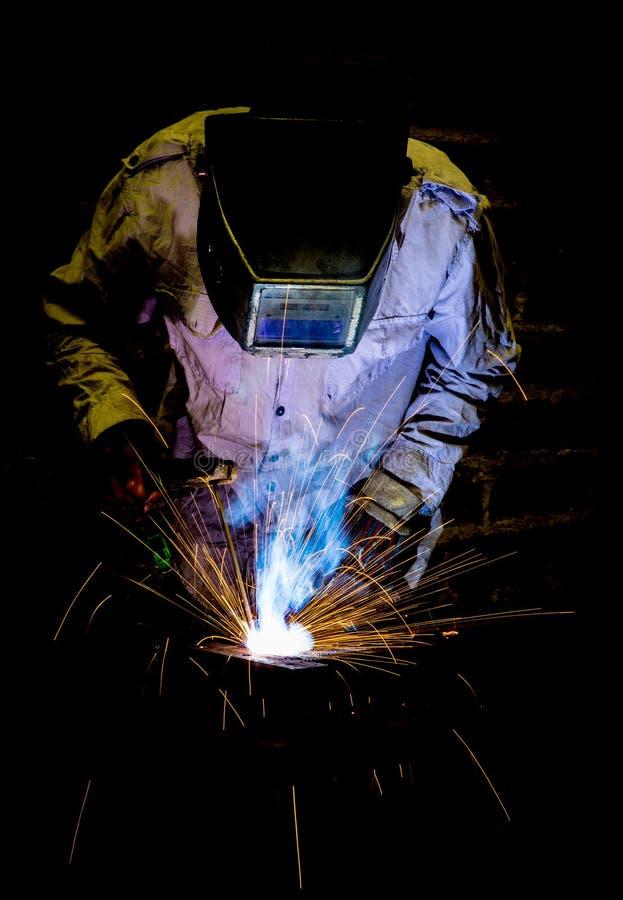 Przemysłowy pracownik zdjęcie stock