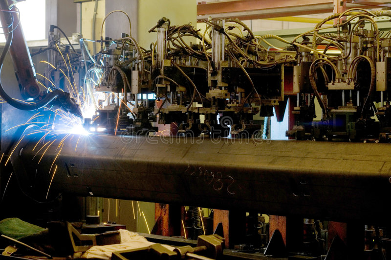 przemysłowy robot zdjęcia stock