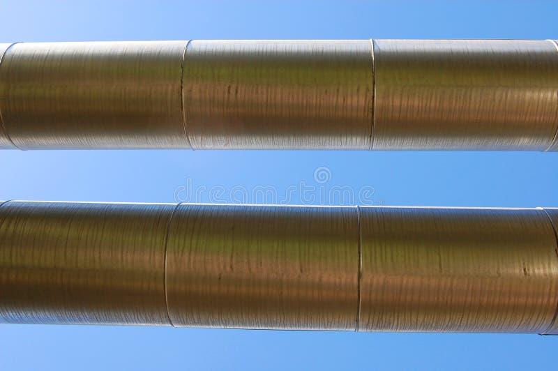 przemysłowy rurociąg naftowy zdjęcia stock