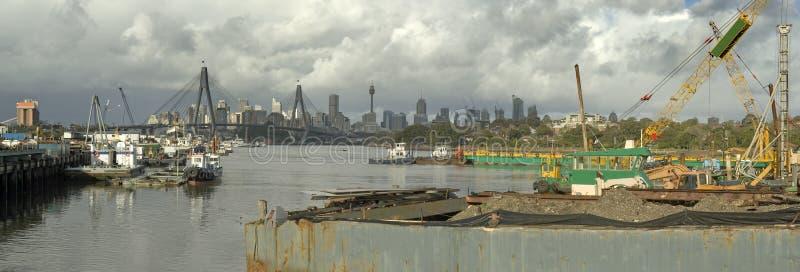 przemysłowy Sydney zdjęcie royalty free