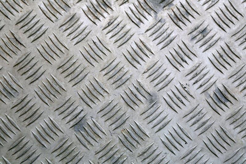 Przemysłowy tło aluminium talerz obraz stock