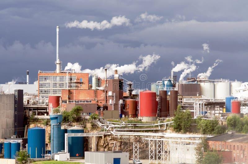 Przemysłowy teren zdjęcia stock