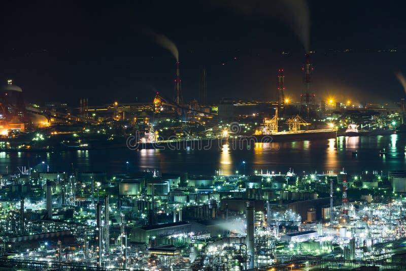 Przemysłowy teren w Japonia zdjęcie royalty free