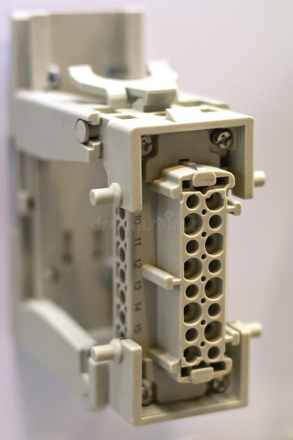Przemysłowy włącznik zdjęcia stock