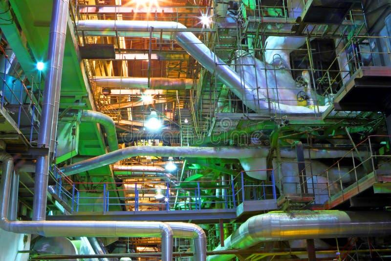 Przemysłowy wnętrze obrazy stock