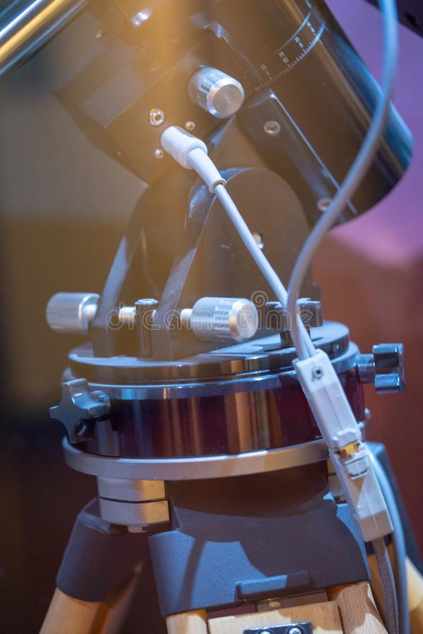 Przemysłowy wzroku czujnika maszyny system zdjęcie stock