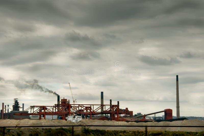 przemysłowy zanieczyszczenie obrazy stock